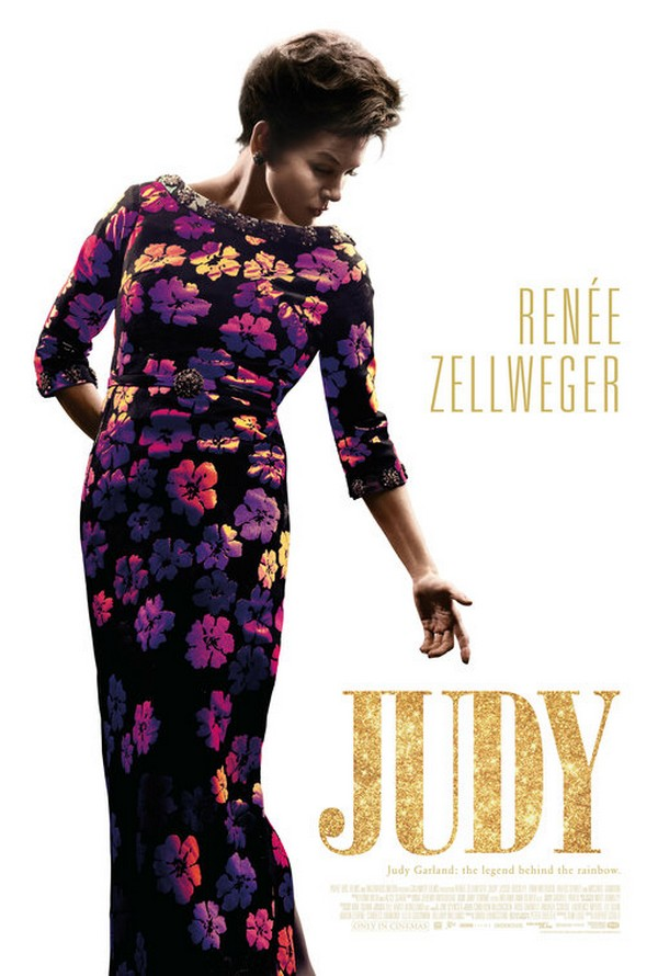 Judy movie poster Renée Zellweger